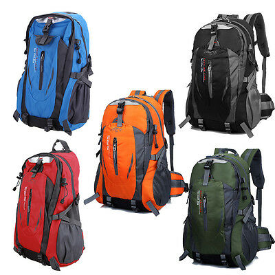 Backpack Outdoor Camping Hiking Travel Luggage Waterproof Rucksack Daypack Bag