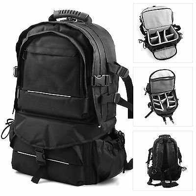 Multifunctional Travel Backpack Camera SLR Case Bag For DSLR Canon Nikon Sony
