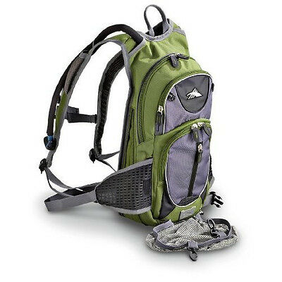 High Sierra Drench Hydration Backpack GREEN 2 litre NEW