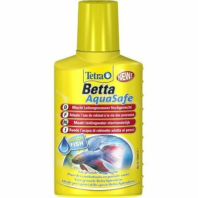 TETRA Betta AquaSafe 100ml pour aquarium - Conditionneur a dissolution NEUF