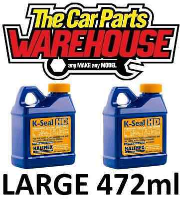 ( x2 ) TWO K-Seal™HD Permanent Coolant Leak Repair Cooling Systems Large 472ml