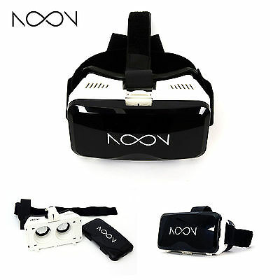 Brand New! NextCore Noon VR Headset for Android/iOS Smartphones [WHITE]