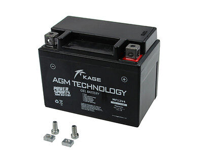Batterie GEL Kage YB4L-B AGM GMX 450 25 BS 4T Deluxe 25 Deluxe25 Bj. 2011-2015