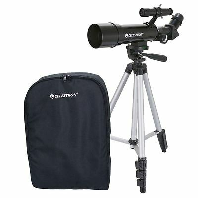 Celestron Travel Scope 70 Refractor Telescope 21035-CGL, Gift or First Telescope