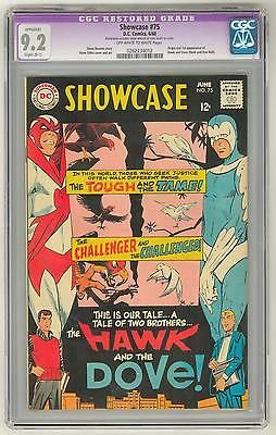 Showcase #75 CGC Apparent 9.2  RESTORED Slight (B-1) *0262234012*