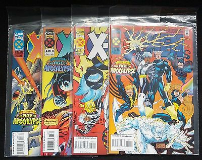 Amazing X-Men Age of Apocalypse #1 2 3 4 Complete Run VF-NM Marvel Comics
