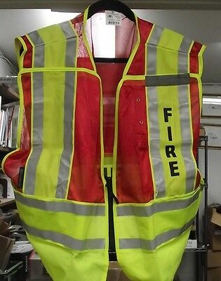 Smith & Wesson SVSW025 Fire Safety Vest Class 2