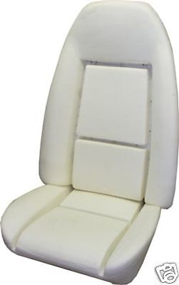 1971-1981 GM STANDARD BUCKET SEAT FOAM BUN with listing wire