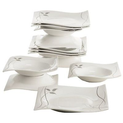 Maxwell williams rP70912 &leaves-in-motion set table service de table 1 NEUF