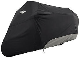 Ultragard 4-444Bc Large Touring Bike Cover Black / Charcoal Goldwing Harley