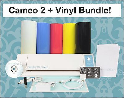 NEW Silhouette Cameo 2, £70 Freebies.  Now Windows 10 Compatible-2