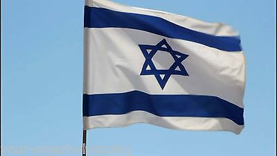 Israel Flag 3'X5' XL ISRAELI National FLAG Jewish Star Magen David