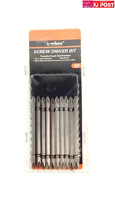 Pack of 10pcs Screw Driver Bit Type Philip 2 Size 100mm Double End Bits 12811