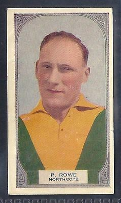 Hoadleys-Victorian Football Ers (51-100)-Aussie Rules-#056- Northcote - Rowe