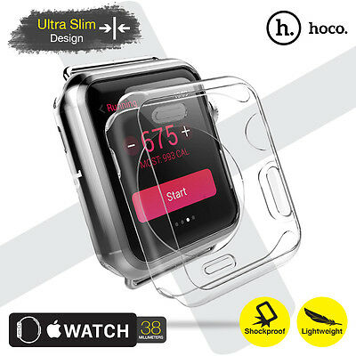 HOCO Ultra Thin Transparent Soft Lightweight Protective Case Apple Watch 38mm