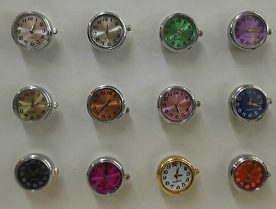 Coloured Watches Snap Buttons