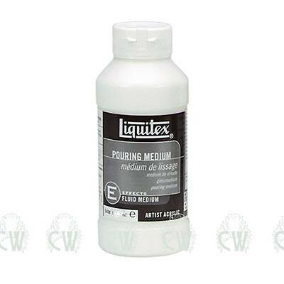 Liquitex Artists Acrylic Pouring Medium 237ml. Artists Painting Medium