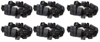 15 Police Security Guard Modular Enforcement Equipment Duty Belt Tactical Nylon