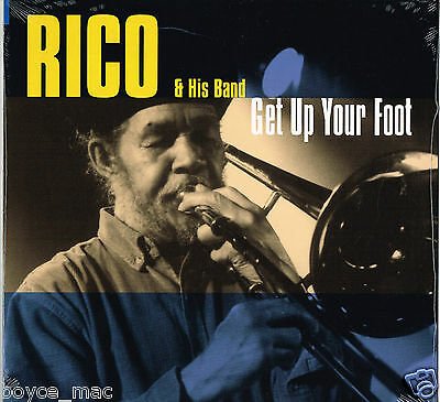 grover LP : RICO-get up your foot  (new & sealed)