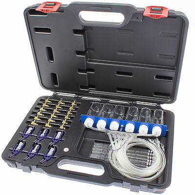 Common Rail Tester Diesel Injector Injection Nozzles Return Flow Menge Check