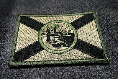 Florida State Flag Tactical Combat 3 Inch  Morale Hook Patch (Mtf1)