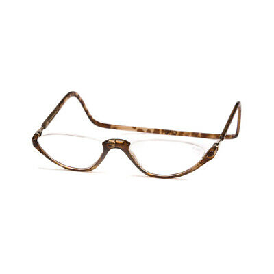 a82deef6dc DW Clic Readers Sonoma Tortoise Front Connect Magnet Adj Reading Glasses  Frame