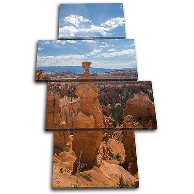 Grand Canyon Aerial Landscapes MULTI CANVAS WALL ART Picture Print
