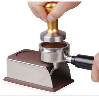 Espresso Holder Coffee Tamper Pod Rack Tool Accessory Holder NEW #GH
