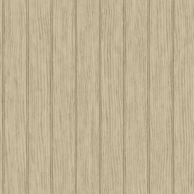NY4946 Beach House Wood Panel Bead Board Wallpaper