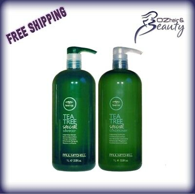 Paul Mitchell Tea Tree Shampoo and Conditioner 1 Litre Duo Pack