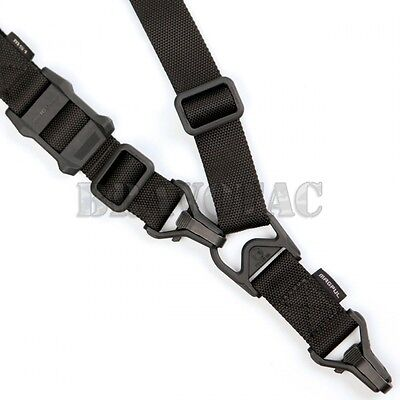 Magpul MAG514-BLK Black MS3 Sling GEN-2 1/2-Point System Tactical Mount Strap