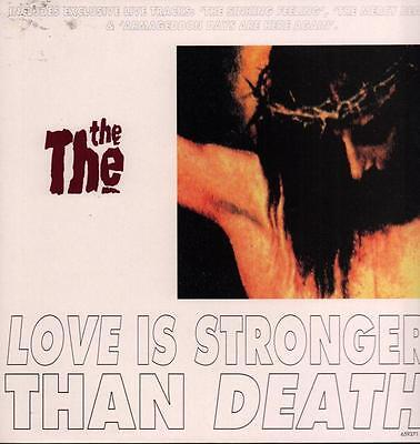 "The The(12"" Vinyl P/S)Love Is Stronger-Epic-659371 6-UK-1993-Ex-/NM"