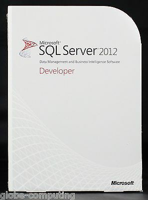 Microsoft SQL Server 2012 Developer Edition E32-00941