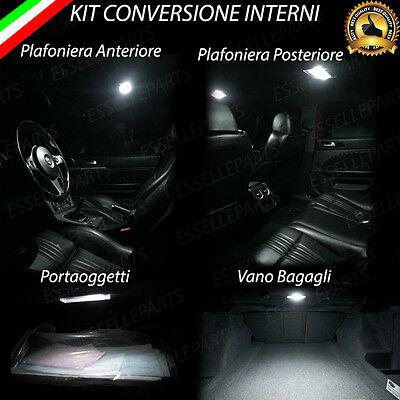 Kit Led Interni Alfa Romeo Brera Kit Completo + Antipozzanghera 6000K
