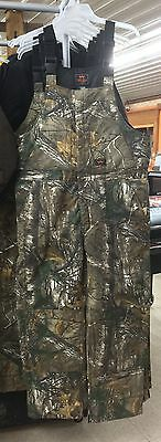 Wall's Men's Legend Realtree Camoflauge Insulated Bib Overalls