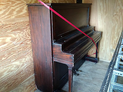Becker Brothers Upright Grand Piano, antique