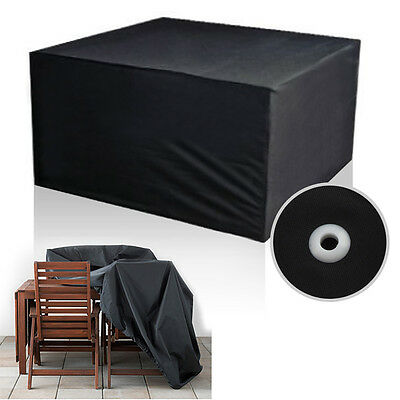 Cube Set Waterproof Garden Furniture Rain Cover Shelter Rattan For Table&Chair