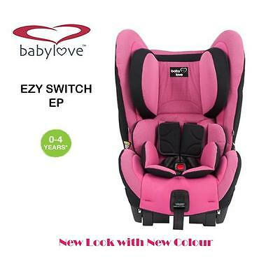 New BabyLove Ezy Switch Ep Convertible Child Infant Baby Car Seat 0-4 years Pink