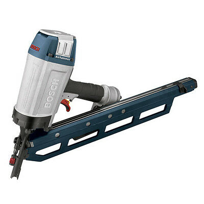 """Bosch 34 Degree 3-1/2"""" Clipped Head Framing Strip Nailer SN350-34C Reconditioned"""
