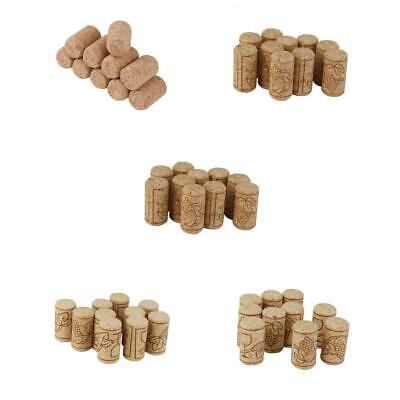 10x Brew Wine Corks Bottle Stoppers Craft Art Hobby DIY Cork Board Wedding Charm