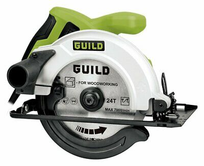 Guild 160mm Circular saw - 1200W. From the Official Argos Shop on ebay