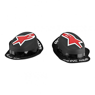 NEW Alpinestars Rain GP Motorcycle Racing Knee Sliders Black/Red