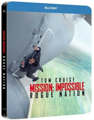 MISSION IMPOSSIBLE - ROGUE NATION STEELBOOK EDITION (BLU-RAY) con TOM CRUISE