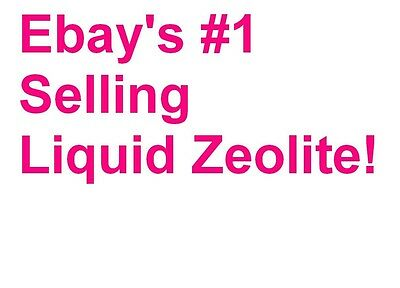 Liquid Zeolite w/ humic fulvic NOT capsules Powder By Eden BE a Guardian Of PURE
