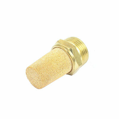3/4BSP Thread Sintered Brass Pneumatic Air Exhaust Silencer Muffler