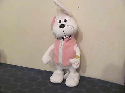 Peter Cottontail singing & jumping/hopping electronic TESTED works great!! Gemmy