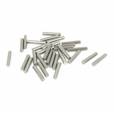 2.5mm x 14mm 304 Stainless Steel Dowel Pins Fasten Elements Silver Tone 30pcs