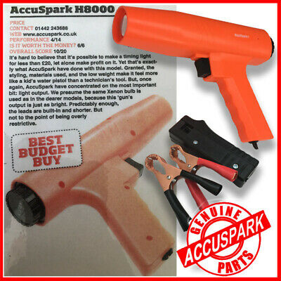AccuSpark H8000 Ignition Strobe timing  lamp / Light