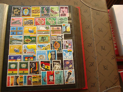 GHANA - 47 timbres neuf ou obliteres stamp