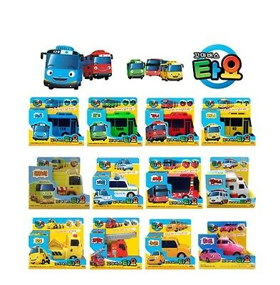 TAYO The Little Bus Fullback Gear Mini Car Toy TAYO and Friends 12 Cars SET